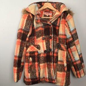 Urban Republic Coat Fur Hood Girls Size 16